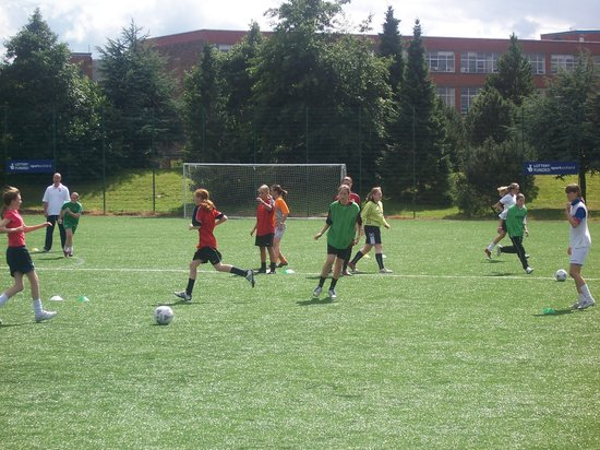 East End Healthy Living Centre: Footie!