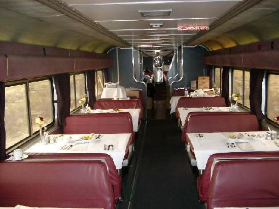 Coast Starlight: Dining Car