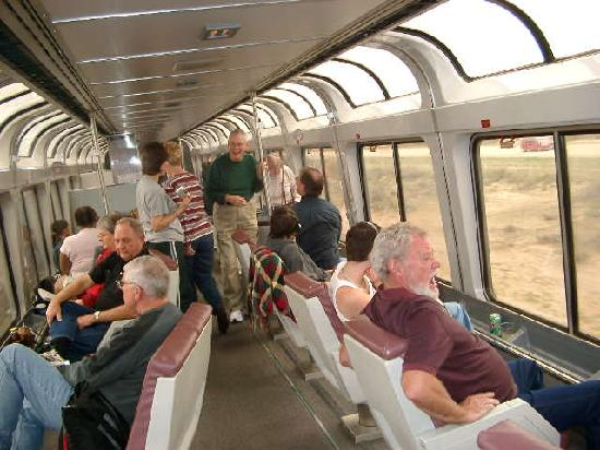 Coast Starlight: Observation Car