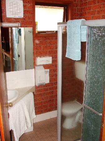 Whalers Rest Motor Inn : Bathroom