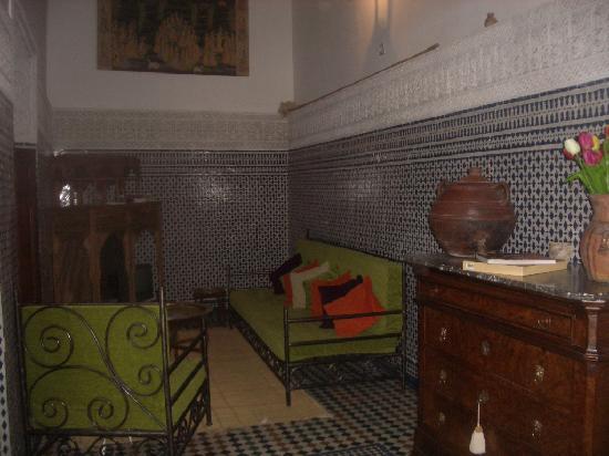 Riad Boujloud: le salon