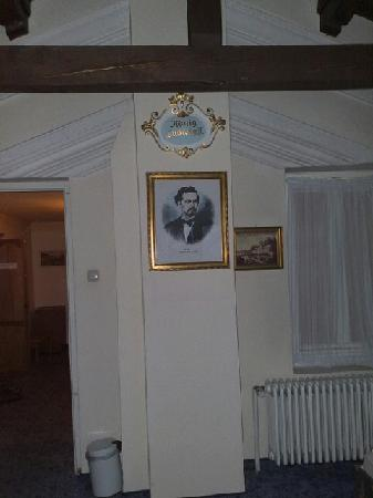 Hotel Bayerischer Hof Starnberg: Picture of König Ludwig II in the room