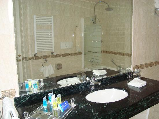 Tiberio Palace Hotel: bagno 1