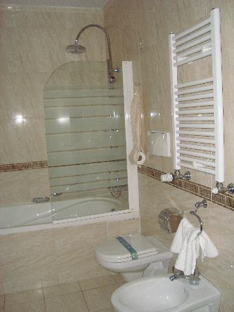 Tiberio Palace Hotel: bagno 2