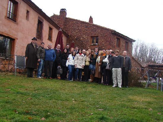 Molino de la Ferrería: La familia junto al Molino