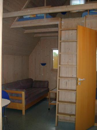 Hedebo Strand Camping Nordjylland: Interior cabaña