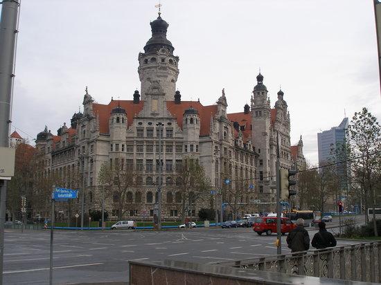 Leipzig Marriott Hotel: Interesting architecture