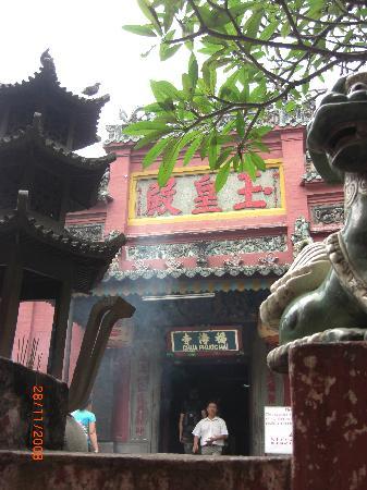 Emperor Jade Pagoda (Chua Ngoc Hoang or Phuoc Hai Tu) : entrance