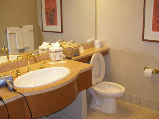 ‪‪Soaring Eagle Casino & Resort‬: Bathroom‬