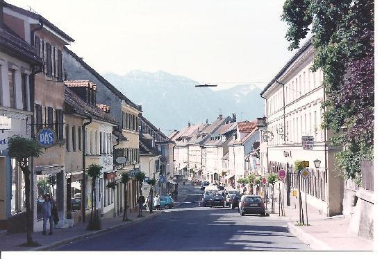 Murnau, Allemagne : Main street