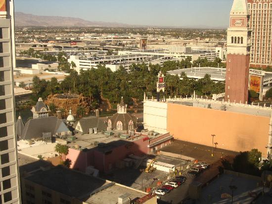 Harrah's Las Vegas Hotel & Casino: view from my hotel window