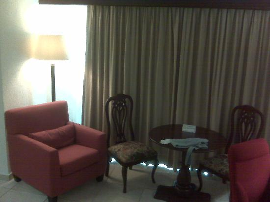 Villa Florida Hotel & Suites: Dining Table inside the room