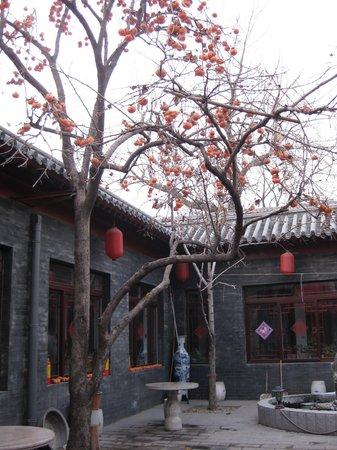 Red Lantern House: west court