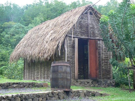 Trois-Ilets, Martinique : Case faite entièrement par Gilbert