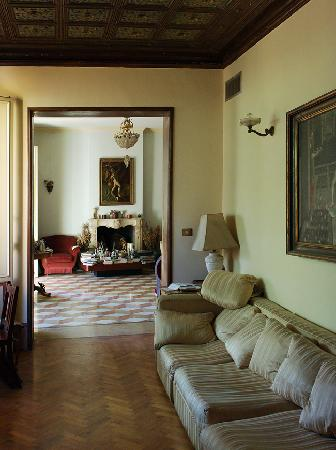 Ca' Fosca due Torri: living room