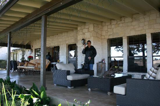 Paniolo Ranch Bed & Breakfast Spa: Main house Outside