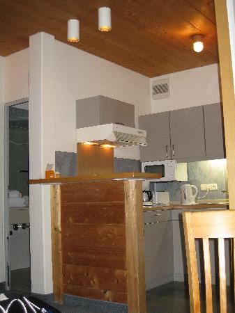 Appartementhotel Seespitz: Kitchen