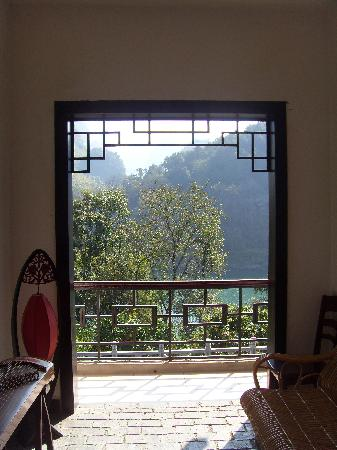 Li River Resort: A view from the stairs