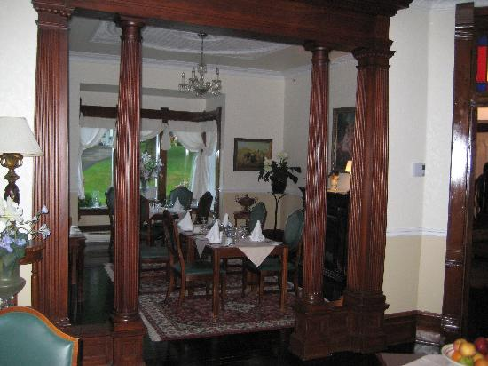Magog, Kanada: breakfast room