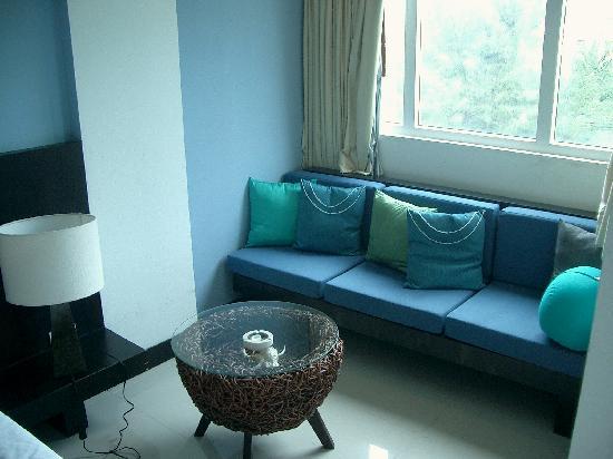 Benyada Lodge: Sitzecke im Benyada@Sea