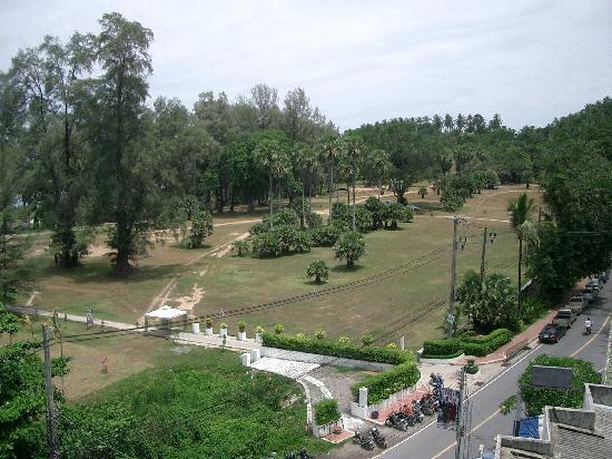 Aussicht vom Dach des Benyada Lodge