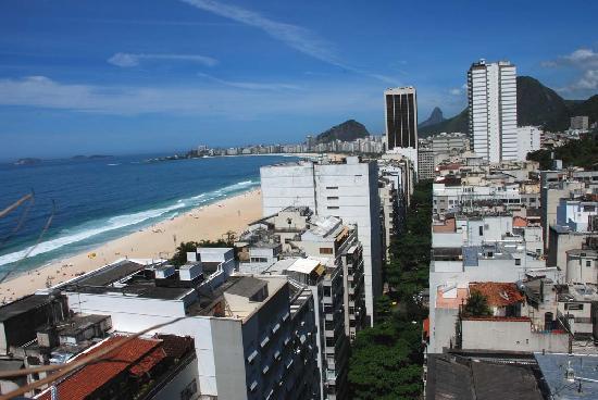 Hotel Novotel Rio de Janeiro Copacabana: Top-floor-view