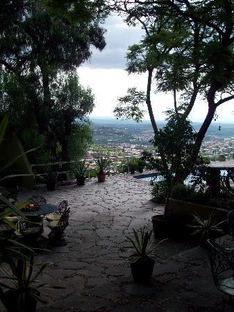 Casa Schuck Boutique Hotel: patio/pool Casa Cordelli. Viva Mexico