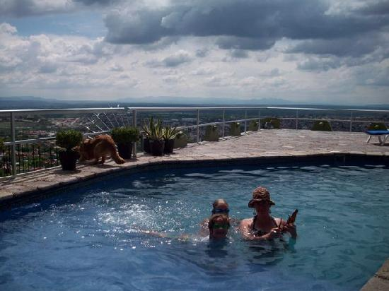 Casa Schuck Boutique Hotel: the pool and view. Its fab-u-lous!