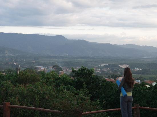 Pousada Casa do Ceo: Mountain views