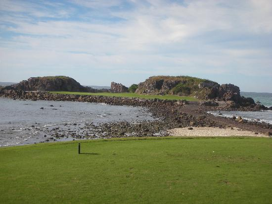 Four Seasons Resort Punta Mita: The magical 3b hole at the golf course