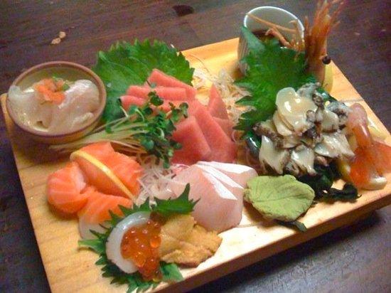 Tokkuritei: Sashimi Omakase (pricey but very good!)