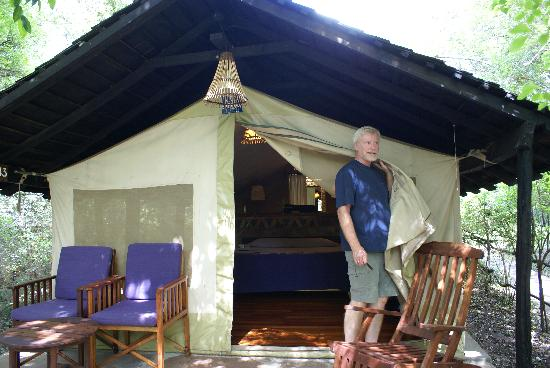 Sarova Mara Game Camp: Sarova offered tents...hardly roughing it!