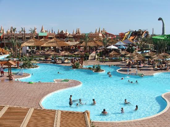 Aqua Blu Sharm: View from Club House Patio.