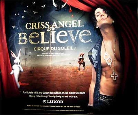 Criss Angel Believe : Criss Angel