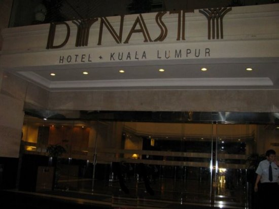 Dynasty Hotel: Front View of Hotel
