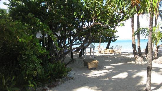 Siboney Beach Club: part of the beach