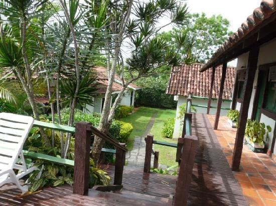 Barla Inn: patio