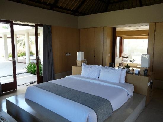 The Bale: bedroom