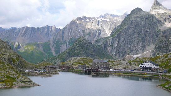 Valais, Sveits: Grand Saint Bernard Pass