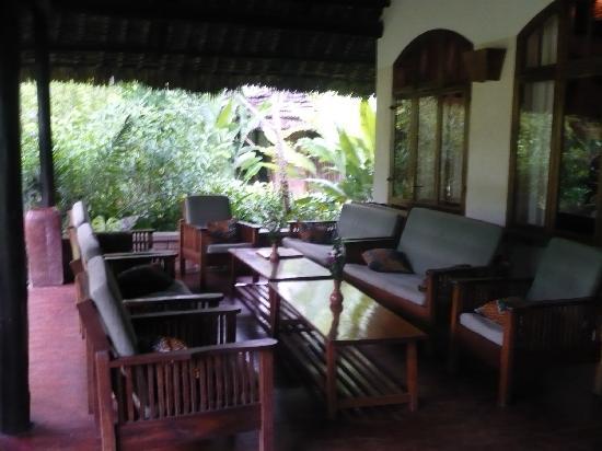 Moivaro Lodge: Lounge