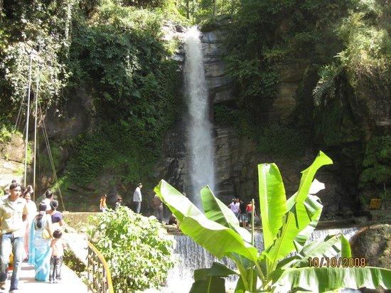Gangtok, Indien: Banjhakri Falls-1