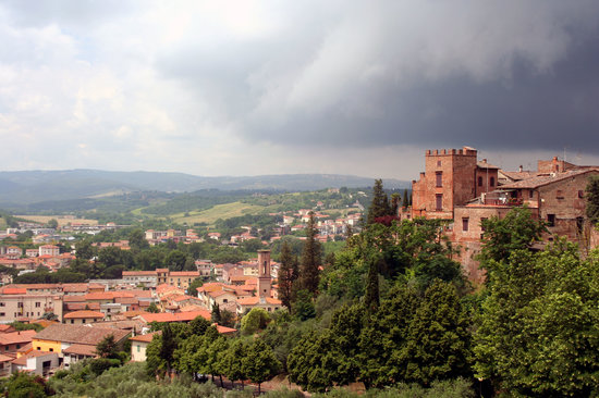 Certaldo, Italie : Little know Tuscan town near Siena