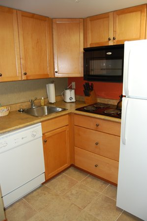 WorldMark Canmore-Banff : the kitchen