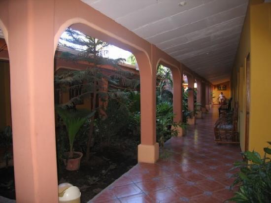Hotel Gran Oceano: atrium
