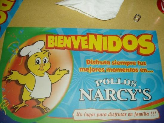 Pollos Narcy's: dirty table