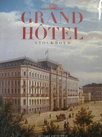 Grand Hotel: ouvrage sur l'hôtel proposé dans la suite