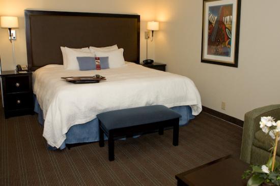 Hampton Inn & Suites Nashville - Downtown: Bedroom