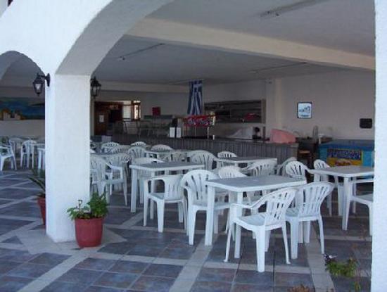 Hersonissos Village Hotel: snackbar...tagsüber snacks und getränke...in Selbstbedienung