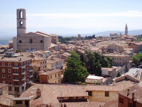 Toscana, Italia:                   PERUGGIA
