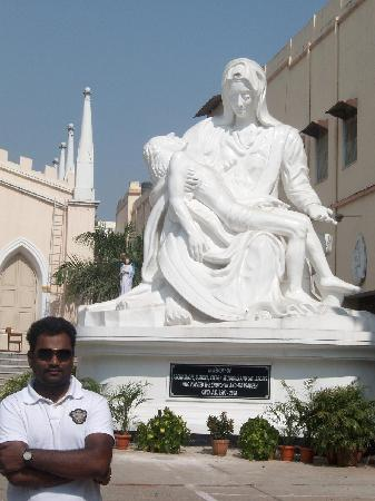 Secunderabad, Inde : St.Mary's church, Hyderabad.